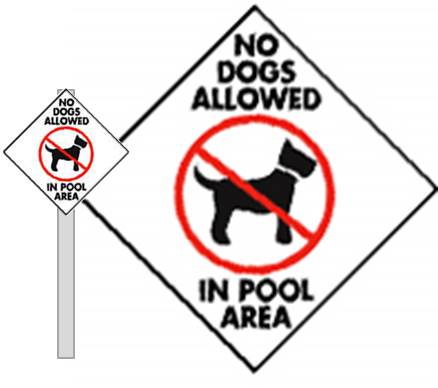 photograph about No Pets Allowed Except Service Animals Sign Printable named No Doggy Pooping And Peeing Indications